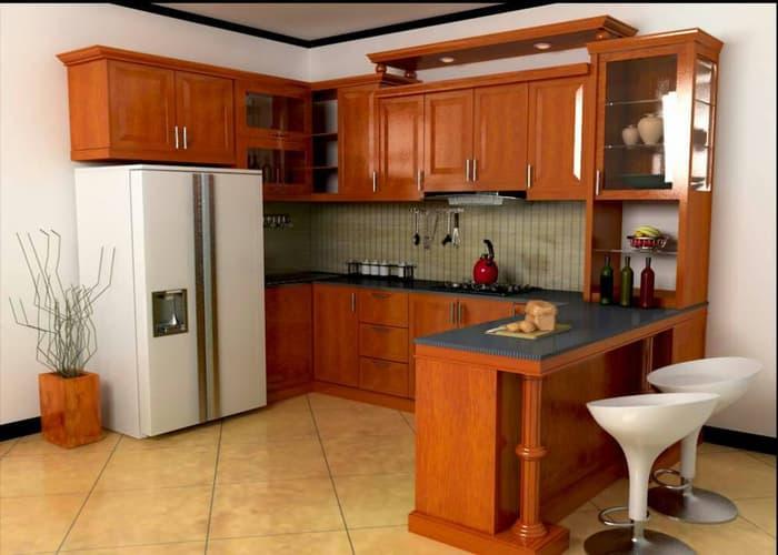 Kitchen Set Simple Mewah