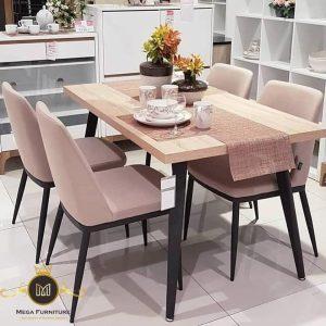 Set Meja Makan Simple Modern