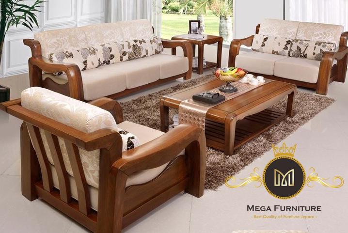 Set Sofa Tamu Jati Terbaru
