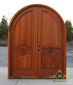 Kusen Pintu Lengkung Motif Sederhana