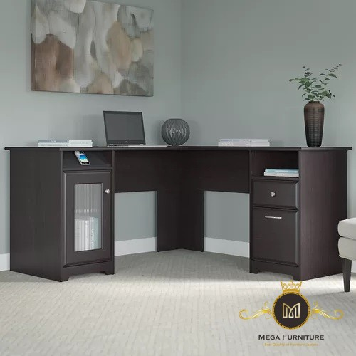 Meja Kantor L Modern