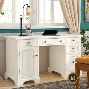 Meja Kantor Minimalis Putih