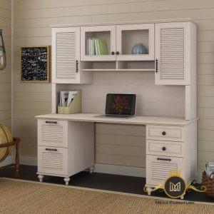 Meja Kerja Minimalis Kantor Simple Mewah