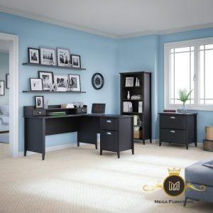 Set Meja Kantor Minimalis Modern