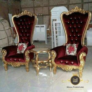 Set Sofa santai Princess Gold