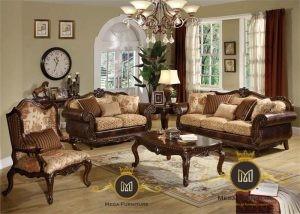 Sofa Klasik Coklat