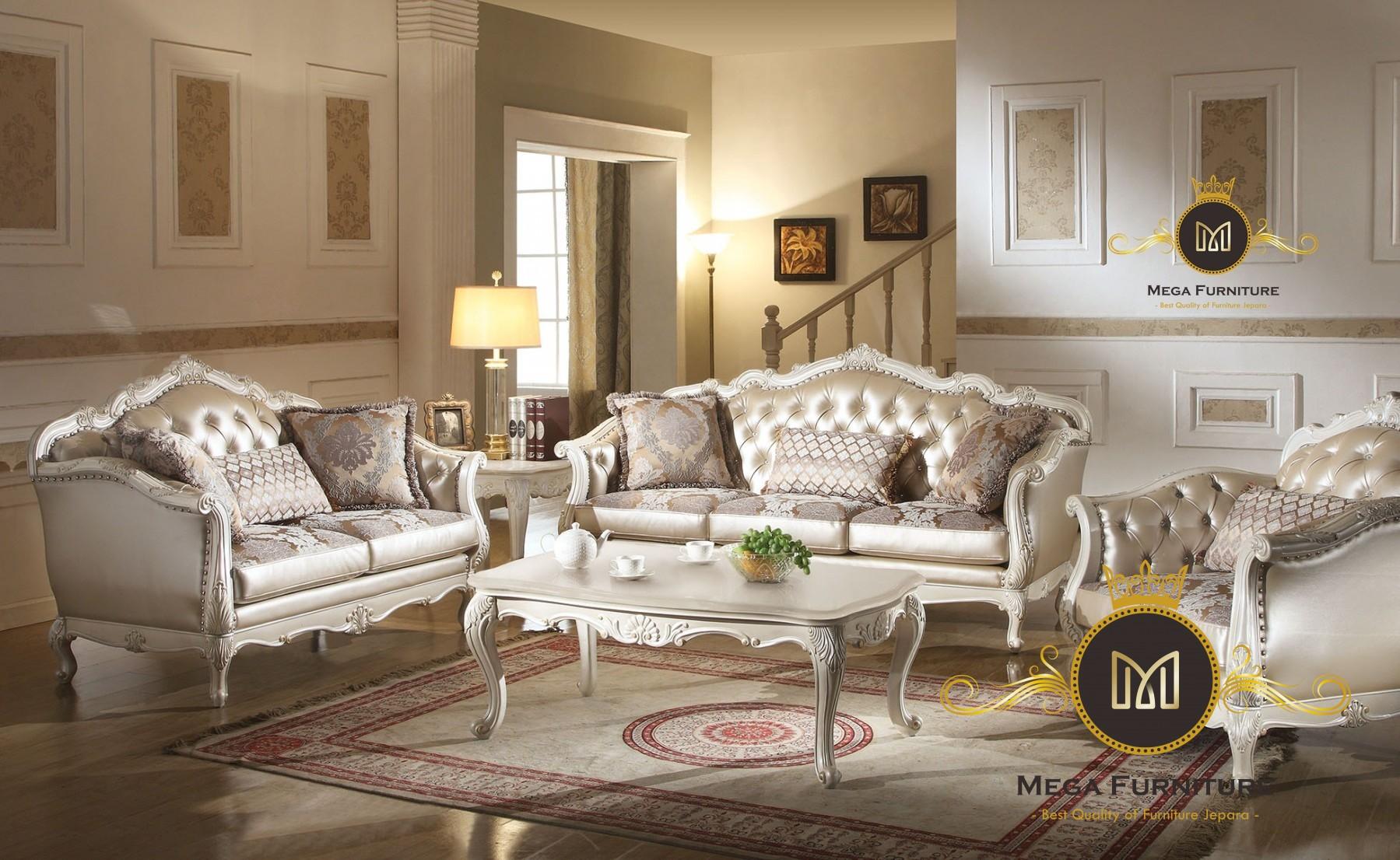 Sofa Tamu Semi Mewah