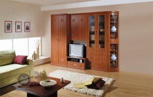 Cabinet TV Klasik Jati Modern
