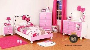 Kamar Tidur Anak Hello Kitty Modern