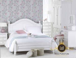 Kamar Tidur Set Minimalis White
