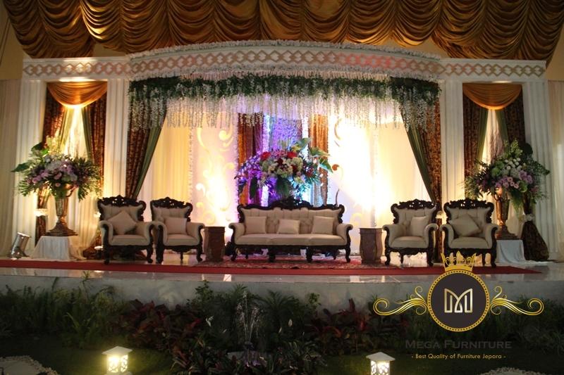 Kursi Dekorasi Pengantin Sofa Mega Furniture