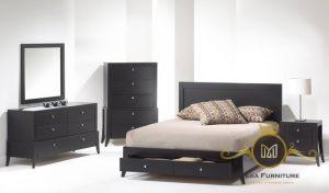Minimalist Modern Black Wooden Furniture