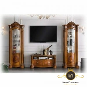 Set Buffet Tv Minimalis Jati