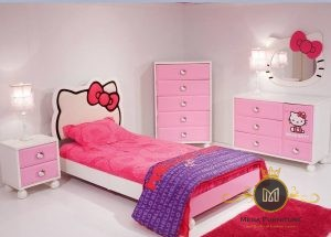 Set Kamar Tidur Anak Hello Kitty