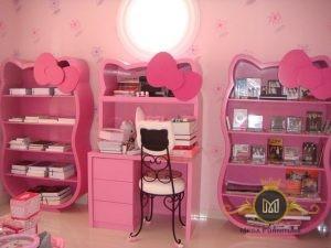 Set Rak Buku Hello Kitty
