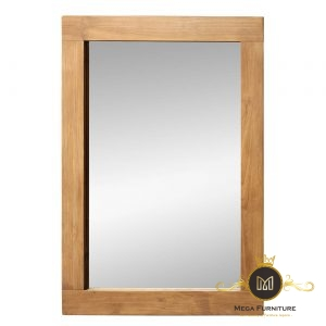 Cermin Minimalis Kayu Jepara