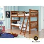Kamar tidur anak tingkat Minimalis Jati Jepara