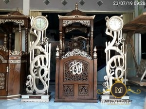 Mimbar Masjid Minimalis Modern