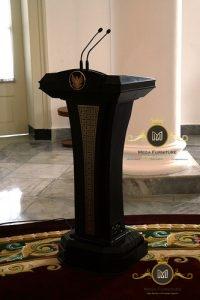 Podium Presiden Jati Jepara