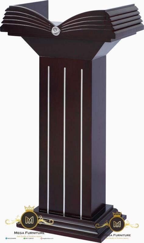 Wooden Pulpit, Podium Minimalis Jati Jepara, Podium Presiden Jati Jepara, Podium Jati, Podium Pejabat, Podium Minimalis, Podium Modern, Podium Pidato, Podium Jepara, Podium Minimalis Jepara, Podium Juara
