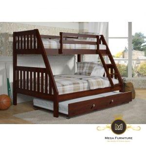 Dipan anak tingkat model klasik kayu jepara