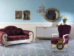 Sofa Bangku Sultan Modern Jepara