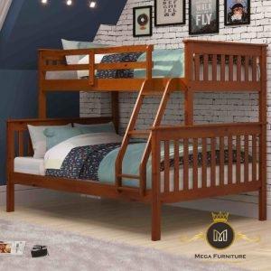 Tempat Tidur Anak Tingkat Klasik Jati