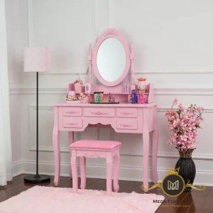 Meja Rias Kartini Pink Modern