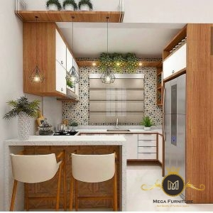 Set Kitchen Set Minimalis Jati Jepara
