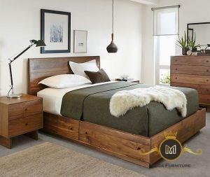 Set kamar tidur solid kayu jati jepara