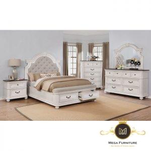 Kamar Set Minimalis Putih Modern