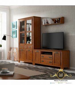 Bufet Tv Minimalis Kayu Jati Terbaru