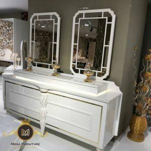Meja Rias Minimalis 2 Cermin Mewah
