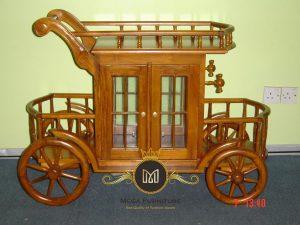 Troly Broda Kayu Jati Model Terbaru