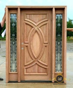 Pintu Jati Minimalis Modern