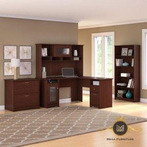 Set Meja Kantor Panjang