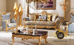 Sofa Tamu Mewah Ukiran