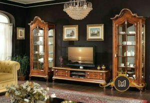 Buffet Tv Klasik Jati Modern