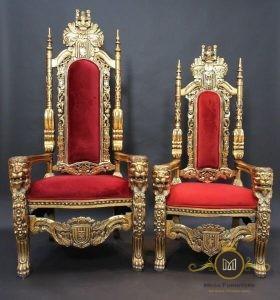 Kursi Raja Mewah
