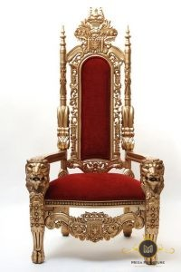 Kursi Sofa Raja Merah