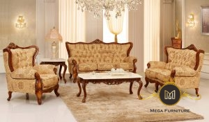 Victorian Fabric Living Room