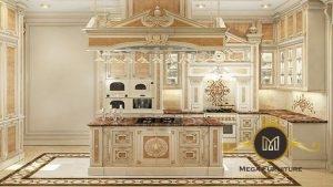 Kitchen Set White Gold Elegan