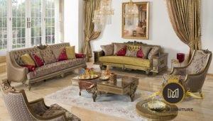 Kursi Sofa Tamu Mewah Elegant