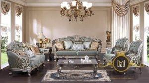 Sofa Ruang Tamu Ukiran Mewah