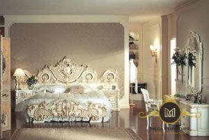 Set kamar tidur modern ukiran jepara