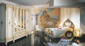 set kamar tidur model modern ukir jepara