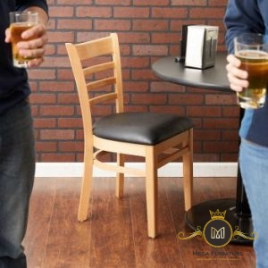 Kursi Minimalis Makan Kayu Ladder Modern