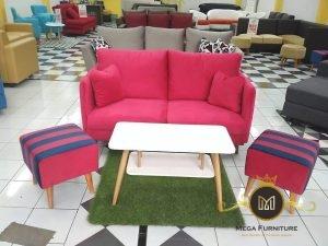 Set Sofa Kursi Teras Tamu Retro