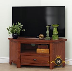 Bufet Tv Minimalis Model Simpel Jati