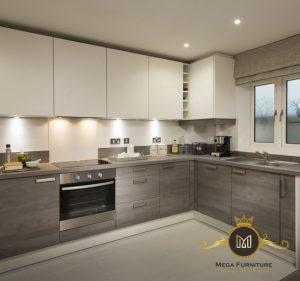 Kitchen Set Minimalis Jati